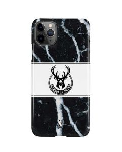 Milwaukee Bucks Marble iPhone 11 Pro Max Lite Case
