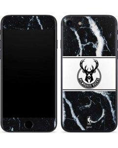 Milwaukee Bucks Marble iPhone SE Skin