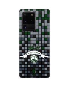 Milwaukee Bucks Pixels Galaxy S20 Ultra 5G Skin