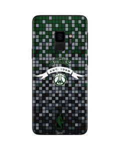 Milwaukee Bucks Pixels Galaxy S9 Skin
