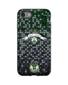 Milwaukee Bucks Pixels iPhone SE Pro Case