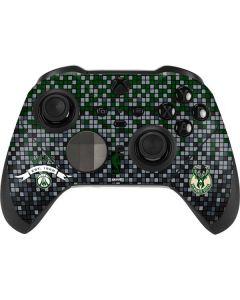 Milwaukee Bucks Pixels Xbox Elite Wireless Controller Series 2 Skin