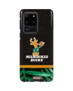 Milwaukee Bucks Retro Palms Galaxy S20 Ultra 5G Pro Case