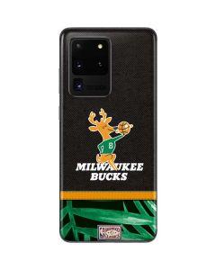 Milwaukee Bucks Retro Palms Galaxy S20 Ultra 5G Skin