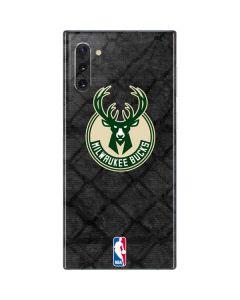 Milwaukee Bucks Rusted Dark Galaxy Note 10 Skin