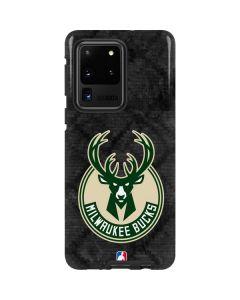 Milwaukee Bucks Rusted Dark Galaxy S20 Ultra 5G Pro Case