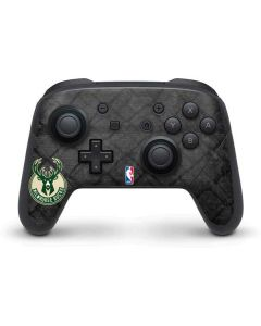 Milwaukee Bucks Rusted Dark Nintendo Switch Pro Controller Skin