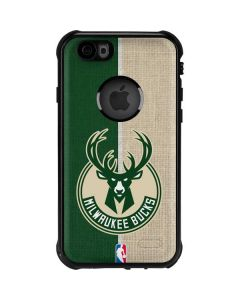 Milwaukee Bucks Split Canvas iPhone 6/6s Waterproof Case