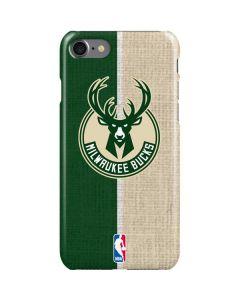 Milwaukee Bucks Split Canvas iPhone SE Lite Case