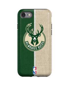 Milwaukee Bucks Split Canvas iPhone SE Pro Case