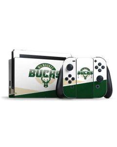 Milwaukee Bucks Split Nintendo Switch Bundle Skin