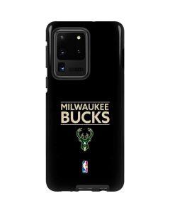 Milwaukee Bucks Standard - Black Galaxy S20 Ultra 5G Pro Case
