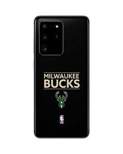 Milwaukee Bucks Standard - Black Galaxy S20 Ultra 5G Skin
