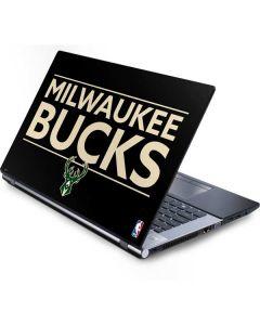 Milwaukee Bucks Standard - Black Generic Laptop Skin