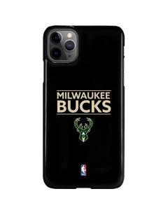 Milwaukee Bucks Standard - Black iPhone 11 Pro Max Lite Case