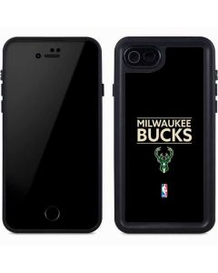 Milwaukee Bucks Standard - Black iPhone 8 Waterproof Case