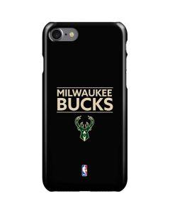 Milwaukee Bucks Standard - Black iPhone SE Lite Case
