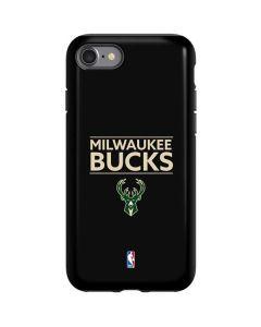 Milwaukee Bucks Standard - Black iPhone SE Pro Case