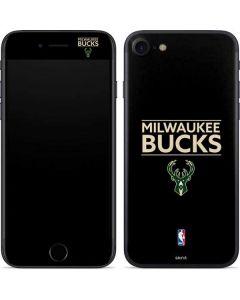 Milwaukee Bucks Standard - Black iPhone SE Skin