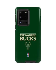 Milwaukee Bucks Standard - Green Galaxy S20 Ultra 5G Pro Case
