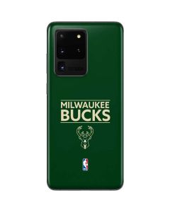 Milwaukee Bucks Standard - Green Galaxy S20 Ultra 5G Skin