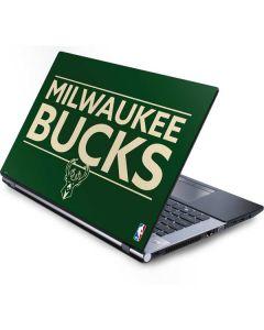 Milwaukee Bucks Standard - Green Generic Laptop Skin