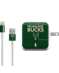 Milwaukee Bucks Standard - Green iPad Charger (10W USB) Skin