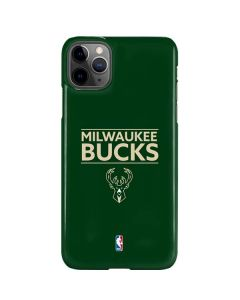 Milwaukee Bucks Standard - Green iPhone 11 Pro Max Lite Case