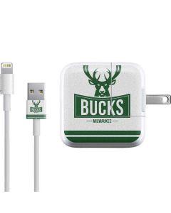 Milwaukee Bucks Static iPad Charger (10W USB) Skin