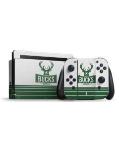 Milwaukee Bucks Static Nintendo Switch Bundle Skin