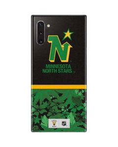 Minnesota North Stars Retro Tropical Print Galaxy Note 10 Skin