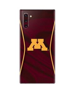 Minnesota Red Jersey Galaxy Note 10 Skin