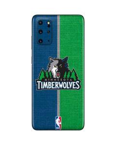 Minnesota Timberwolves Canvas Galaxy S20 Plus Skin