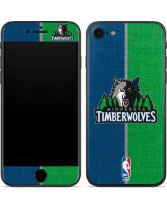 Minnesota Timberwolves Canvas iPhone SE Skin
