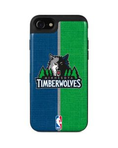 Minnesota Timberwolves Canvas iPhone SE Wallet Case