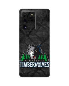 Minnesota Timberwolves Dark Rust Galaxy S20 Ultra 5G Skin