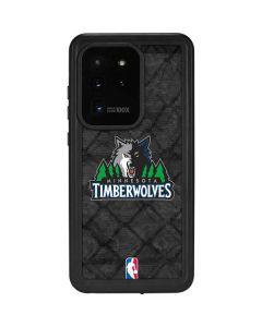 Minnesota Timberwolves Dark Rust Galaxy S20 Ultra 5G Waterproof Case