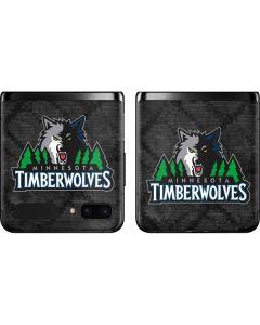Minnesota Timberwolves Dark Rust Galaxy Z Flip Skin