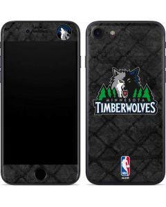 Minnesota Timberwolves Dark Rust iPhone SE Skin
