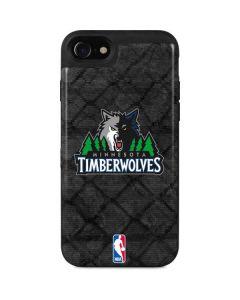 Minnesota Timberwolves Dark Rust iPhone SE Wallet Case