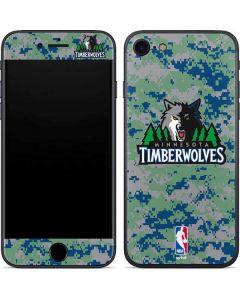 Minnesota Timberwolves Digi Camo iPhone SE Skin