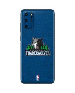 Minnesota Timberwolves Distressed Galaxy S20 Plus Skin