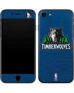 Minnesota Timberwolves Distressed iPhone SE Skin
