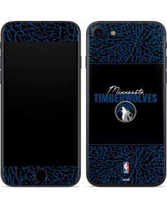 Minnesota Timberwolves Elephant Print iPhone SE Skin