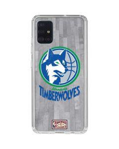 Minnesota Timberwolves Hardwood Classics Galaxy A51 Clear Case