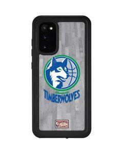 Minnesota Timberwolves Hardwood Classics Galaxy S20 Waterproof Case