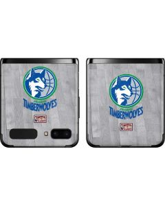 Minnesota Timberwolves Hardwood Classics Galaxy Z Flip Skin