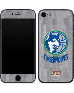 Minnesota Timberwolves Hardwood Classics iPhone SE Skin
