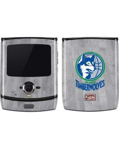 Minnesota Timberwolves Hardwood Classics Motorola RAZR Skin