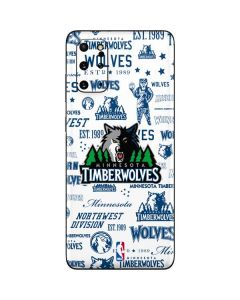 Minnesota Timberwolves Historic Blast Galaxy S20 Plus Skin